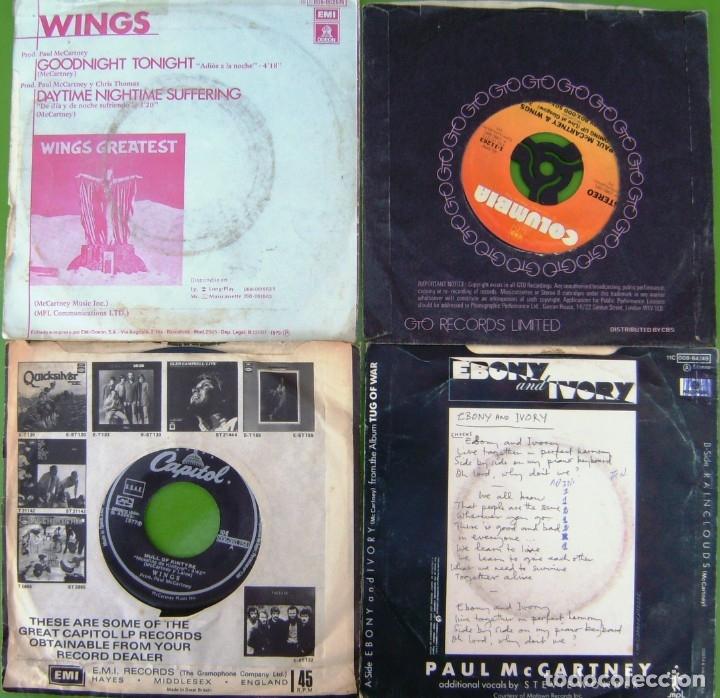 Discos de vinilo: Lote de 4 singles de Paul McCartney (The Beatles) - Foto 2 - 178159387