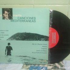 Discos de vinilo: DEAN MARTIN CANCIONES MEDITERRANEAS 10 PULGADAS SPAIN 1964 PEPETO TOP. Lote 178159448