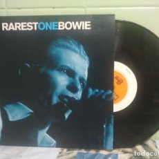 Discos de vinilo: DAVID BOWIE RAREST ONE BOWIE 10 PULGADAS UK 1995 PEPETO TOP. Lote 178159492