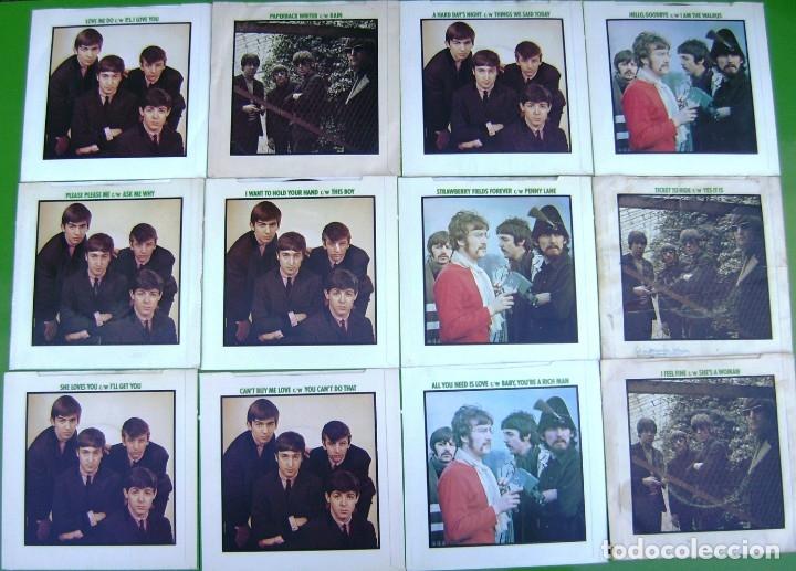Discos de vinilo: The Beatles - Coleccion de 24 singles y estuche (The Singles Collection 1962-1970) - Foto 3 - 178159933