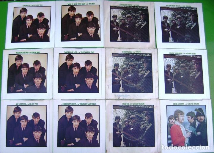 Discos de vinilo: The Beatles - Coleccion de 24 singles y estuche (The Singles Collection 1962-1970) - Foto 4 - 178159933
