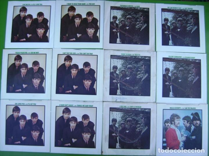 Discos de vinilo: The Beatles - Coleccion de 24 singles y estuche (The Singles Collection 1962-1970) - Foto 6 - 178159933