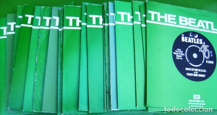 Discos de vinilo: The Beatles - Coleccion de 24 singles y estuche (The Singles Collection 1962-1970) - Foto 9 - 178159933
