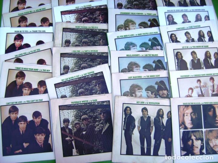 Discos de vinilo: The Beatles - Coleccion de 24 singles y estuche (The Singles Collection 1962-1970) - Foto 10 - 178159933