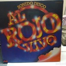 Discos de vinilo: DOBLE LP-AL ROJO VIVO- EN FUNDA ORIGINAL 1979. Lote 178163162