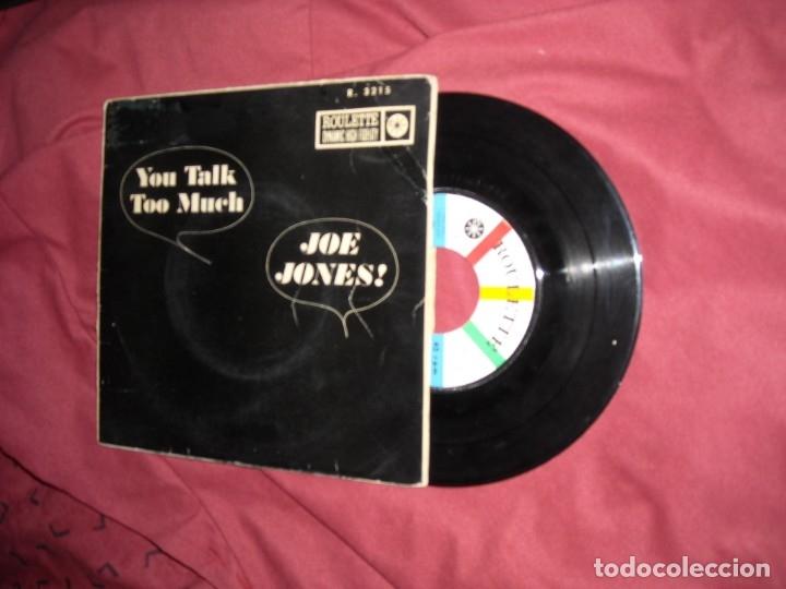 JOE JONES EP YOU TALK TOO MUCH 1961 RAREZA SPAIN VER FOTOS (Música - Discos de Vinilo - EPs - Jazz, Jazz-Rock, Blues y R&B)