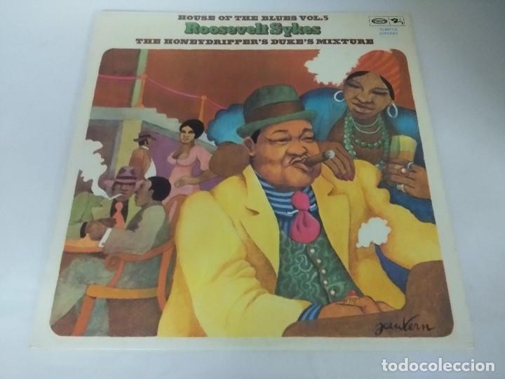 VINILO/THE HONEYDRIPPER'S DUKE'S MIXTURE/ROOSEVELT SYKES. (Música - Discos - LP Vinilo - Jazz, Jazz-Rock, Blues y R&B)