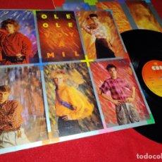 Discos de vinilo: OLE OLE VOY A MIL LP 1984 CBS MOVIDA POP VICKY LARRAZ. Lote 178171120