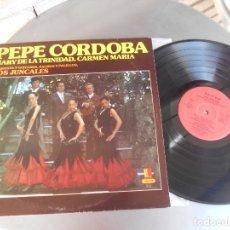 Discos de vinilo: PEPE CORDOBA Y MARY DE LA TRINIDAD-LP YO VIVO DESESPERAO. Lote 178187732