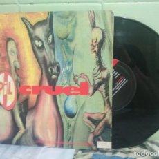 Discos de vinilo: PIL - PUBLIC IMAGE LIMITED CRUEL 10 PULGADAS UK 1992 PEPETO TOP . Lote 178192158