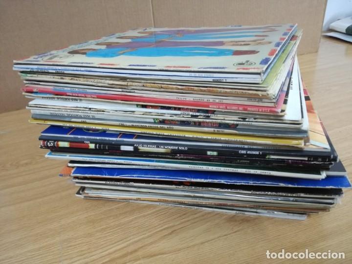 LOTE DE 60 LPS DISCOS VARIADOS.VER FOTOS (Música - Discos - LP Vinilo - Grupos Españoles de los 70 y 80)