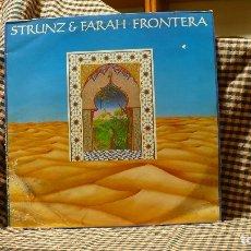 Discos de vinilo: STRUNZ & FARAH – FRONTERA, MILESTONE – 68.155, 1984, TEMAS EN DESCRIPCION.. Lote 178202016
