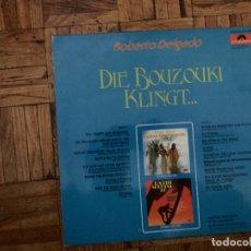 Discos de vinilo: ROBERTO DELGADO – DIE BOUZOUKI KLINGT ... GÉNERO: FOLK, WORLD, & COUNTRY ESTILO: FOLK AÑO: 1974 PI. Lote 178202200