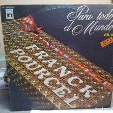 Discos de vinilo: DOBLE LP-FRANCK POURCEL-PARA TODO EL MUNDO II EN FUNDA ORIGINAL AÑO 1979. Lote 178203955