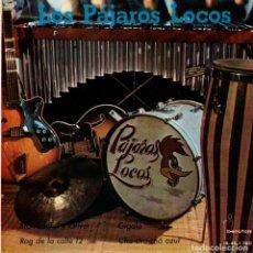 Discos de vinilo: LOS PAJAROS LOCOS - STAN LAUREL - GIGOLO +2 EP 1962. Lote 178205200