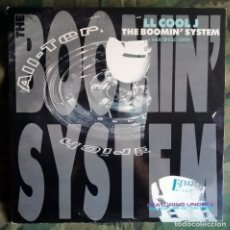 Discos de vinilo: LL COOL J – THE BOOMIN' SYSTEM SPAIN 1990 PRODUCIDO MARLEY MARL. Lote 178208522