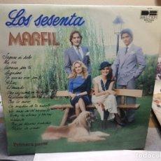Discos de vinilo: LP-MARFIL-LOS SESENTA EN FUNDA ORIGINAL AÑO 1980. Lote 178208565