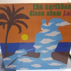 Discos de vinilo: LP-THE CARIBEAN DISCO SHOW-LOBO EN FUNDA ORIGINAL AÑO 1981. Lote 178208745