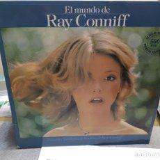 Discos de vinilo: LP-RAY CONNIFF-EL MUNDO DE EN FUNDA ORIGINAL AÑO 1977. Lote 178209641