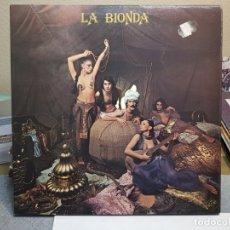 Discos de vinilo: LP-LA BIONDA - EN FUNDA ORIGINAL AÑO 1978. Lote 178210278