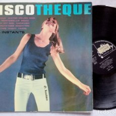 Discos de vinilo: THE 4 INSTANTS - DISCOTHEQUE - LP UK 1965 - SOCIETY . Lote 178212635