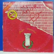 Discos de vinilo: MAXI SINGLE DISCO VINILO PLASTIC MODE BAJA IMPERIAL MI AMOR. Lote 178216116