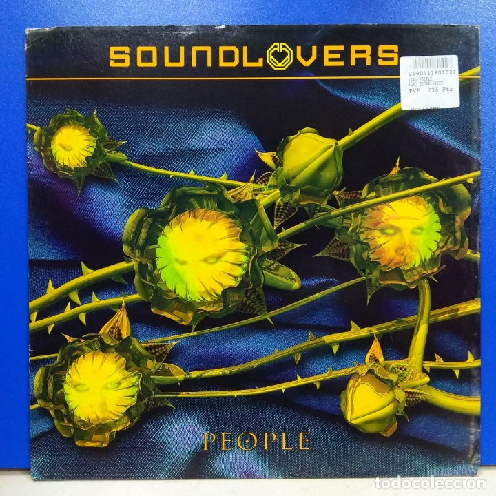 MAXI SINGLE DISCO VINILO SOUNDLOVERS PEOPLE (Música - Discos de Vinilo - Maxi Singles - Disco y Dance)