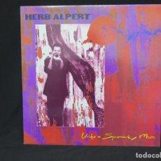 Discos de vinilo: HERB ALPERT - UNDER A SPANISH MOON (LP-VINILO) AÑO 1988, COMO NUEVO-CALIDAD. Lote 178216845