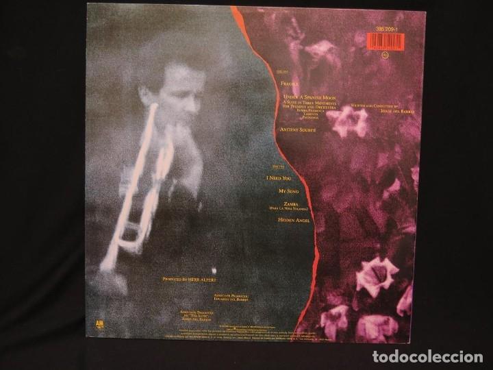 Discos de vinilo: HERB ALPERT - UNDER A SPANISH MOON (LP-Vinilo) AÑO 1988, COMO NUEVO-CALIDAD - Foto 5 - 178216845