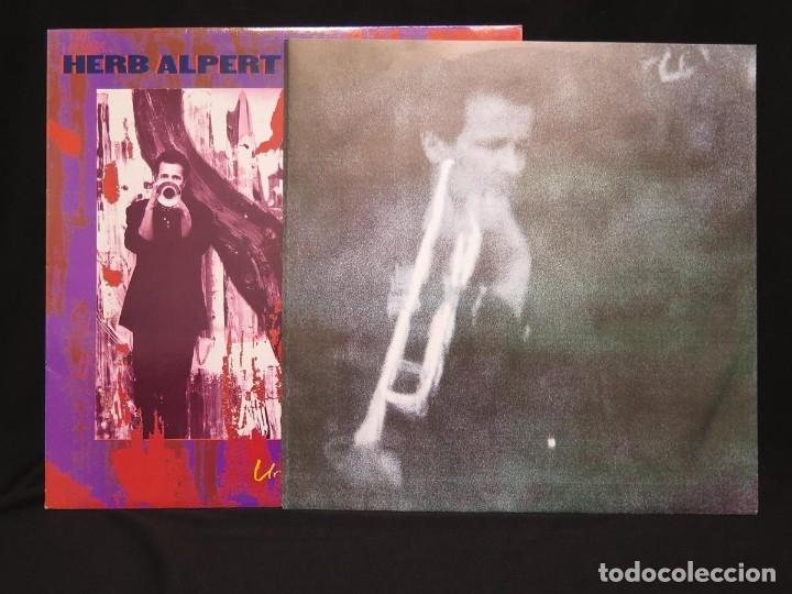 Discos de vinilo: HERB ALPERT - UNDER A SPANISH MOON (LP-Vinilo) AÑO 1988, COMO NUEVO-CALIDAD - Foto 7 - 178216845