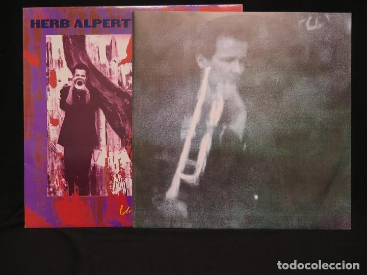 Discos de vinilo: HERB ALPERT - UNDER A SPANISH MOON (LP-Vinilo) AÑO 1988, COMO NUEVO-CALIDAD - Foto 8 - 178216845