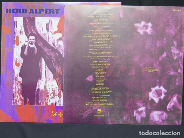 Discos de vinilo: HERB ALPERT - UNDER A SPANISH MOON (LP-Vinilo) AÑO 1988, COMO NUEVO-CALIDAD - Foto 10 - 178216845