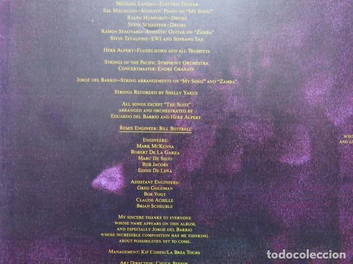 Discos de vinilo: HERB ALPERT - UNDER A SPANISH MOON (LP-Vinilo) AÑO 1988, COMO NUEVO-CALIDAD - Foto 11 - 178216845