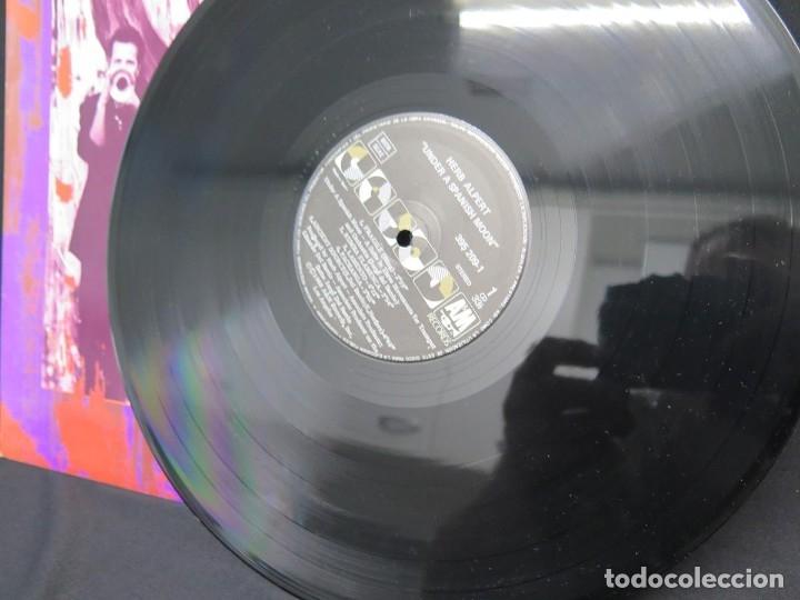 Discos de vinilo: HERB ALPERT - UNDER A SPANISH MOON (LP-Vinilo) AÑO 1988, COMO NUEVO-CALIDAD - Foto 14 - 178216845