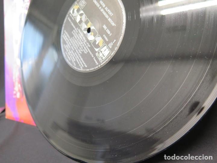 Discos de vinilo: HERB ALPERT - UNDER A SPANISH MOON (LP-Vinilo) AÑO 1988, COMO NUEVO-CALIDAD - Foto 15 - 178216845