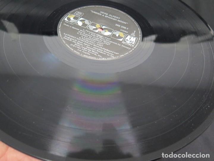 Discos de vinilo: HERB ALPERT - UNDER A SPANISH MOON (LP-Vinilo) AÑO 1988, COMO NUEVO-CALIDAD - Foto 26 - 178216845