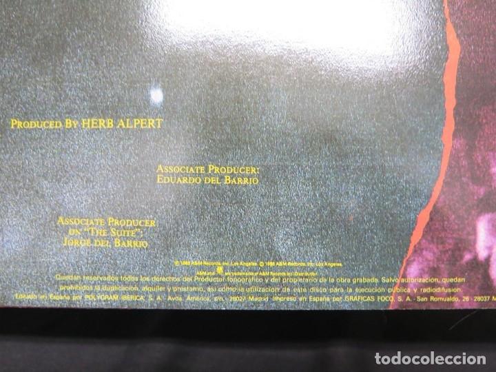 Discos de vinilo: HERB ALPERT - UNDER A SPANISH MOON (LP-Vinilo) AÑO 1988, COMO NUEVO-CALIDAD - Foto 28 - 178216845