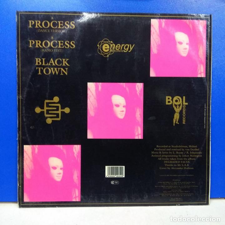 Discos de vinilo: MAXI SINGLE DISCO VINILO ELEGANT MACHINERY PROCESS VINILO VERDE - Foto 2 - 178217378