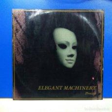 Discos de vinilo: MAXI SINGLE DISCO VINILO ELEGANT MACHINERY PROCESS VINILO VERDE. Lote 178217378