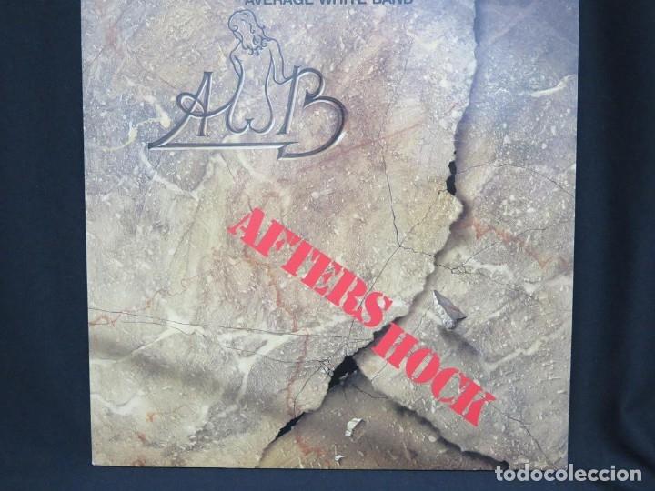 Discos de vinilo: AVERAGE WHITE BAND - AFTERSHOCK (LP-Vinilo) AÑO -1988 COMO NUEVO,CALIDAD - Foto 2 - 178218220