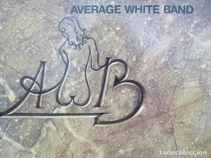 Discos de vinilo: AVERAGE WHITE BAND - AFTERSHOCK (LP-Vinilo) AÑO -1988 COMO NUEVO,CALIDAD - Foto 4 - 178218220