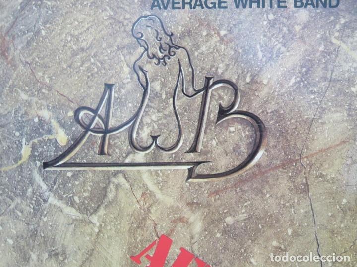 Discos de vinilo: AVERAGE WHITE BAND - AFTERSHOCK (LP-Vinilo) AÑO -1988 COMO NUEVO,CALIDAD - Foto 5 - 178218220