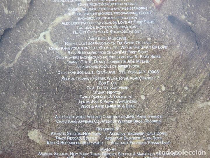 Discos de vinilo: AVERAGE WHITE BAND - AFTERSHOCK (LP-Vinilo) AÑO -1988 COMO NUEVO,CALIDAD - Foto 9 - 178218220