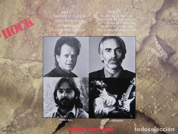 Discos de vinilo: AVERAGE WHITE BAND - AFTERSHOCK (LP-Vinilo) AÑO -1988 COMO NUEVO,CALIDAD - Foto 13 - 178218220
