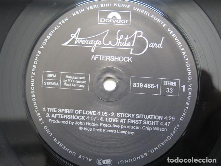 Discos de vinilo: AVERAGE WHITE BAND - AFTERSHOCK (LP-Vinilo) AÑO -1988 COMO NUEVO,CALIDAD - Foto 16 - 178218220