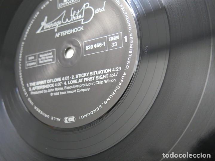 Discos de vinilo: AVERAGE WHITE BAND - AFTERSHOCK (LP-Vinilo) AÑO -1988 COMO NUEVO,CALIDAD - Foto 18 - 178218220