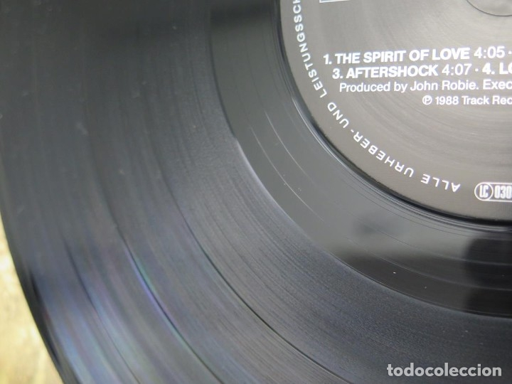 Discos de vinilo: AVERAGE WHITE BAND - AFTERSHOCK (LP-Vinilo) AÑO -1988 COMO NUEVO,CALIDAD - Foto 23 - 178218220