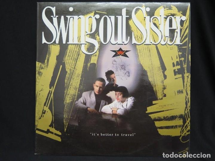 Discos de vinilo: SWING OUT SISTER - IT´S BETTER TO TRAVEL (LP-Vinilo) AÑO -1987 - COMO NUEVO,CALIDAD - Foto 3 - 178219338