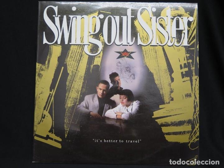Discos de vinilo: SWING OUT SISTER - IT´S BETTER TO TRAVEL (LP-Vinilo) AÑO -1987 - COMO NUEVO,CALIDAD - Foto 6 - 178219338