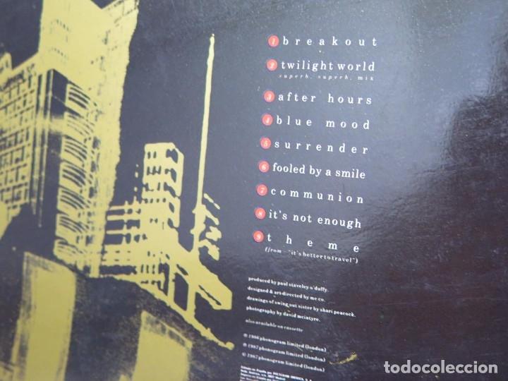 Discos de vinilo: SWING OUT SISTER - IT´S BETTER TO TRAVEL (LP-Vinilo) AÑO -1987 - COMO NUEVO,CALIDAD - Foto 10 - 178219338